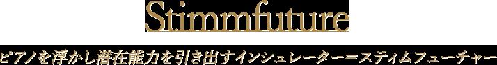 Stimmfuture|ピアノを浮かし潜在能力を引き出すインシュレーター=スティムフューチャー