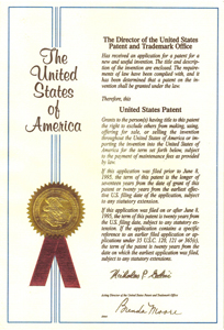 US特許インシュレーター